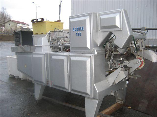 Baader 190, Filleting Machine