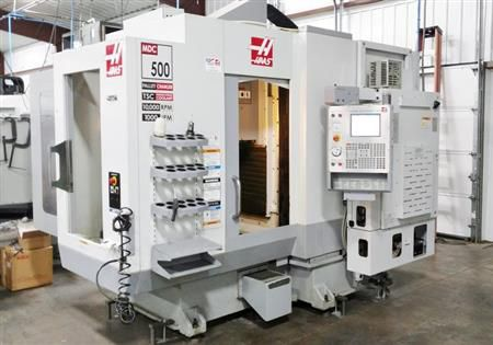 Haas MDC-500 Mill Drill Center Haas CNC Control 3 Axis