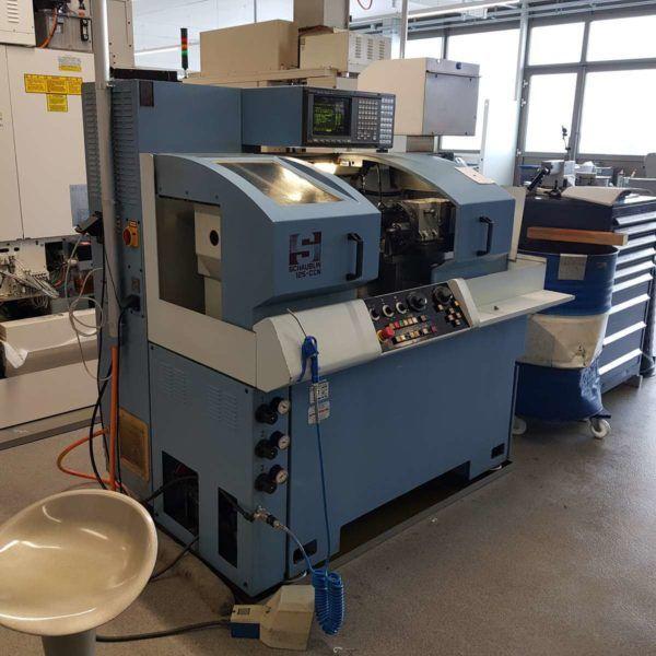 Schaublin CNC system Fanuc 20-T 5000 RPM 125CCNR-T 2 Axis