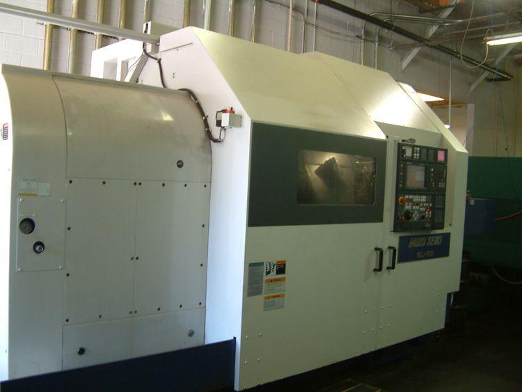 Mori Seiki CNC Control Variable SL 80F 2 Axis