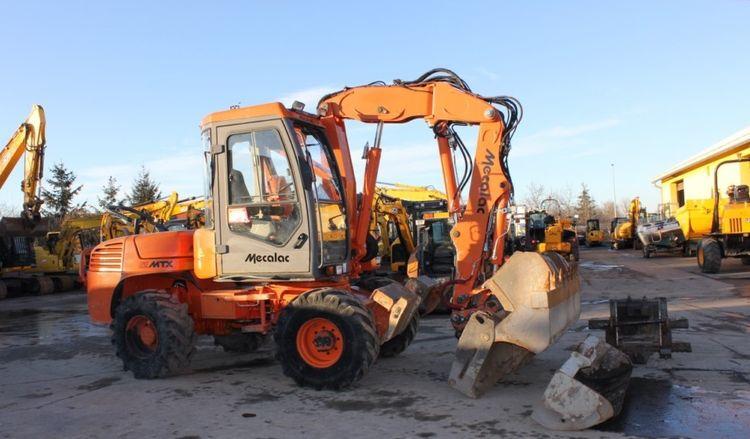 Mecalac 12 MTX Backhoe loader