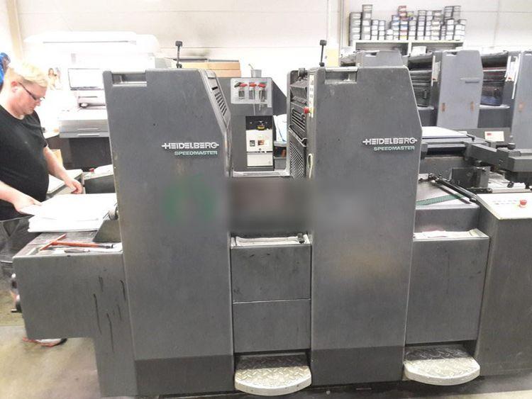 Heidelberg SPEEDMASTER SM 52-2-P 2 370 x 520 mm
