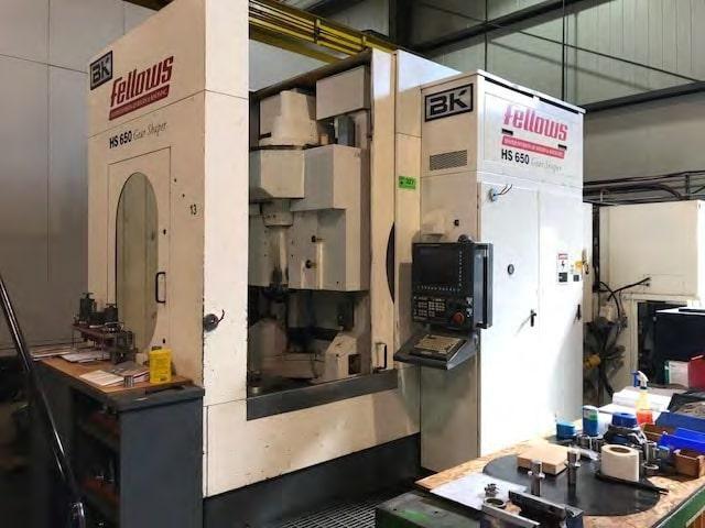 Fellows HS 650-200 Variable Vertical CNC Gear Shaper