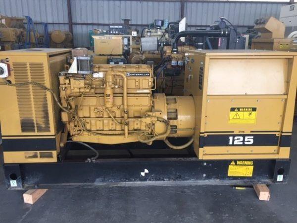 Caterpillar 3116 Diesel Generator Set 125KW