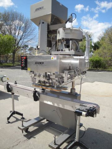 Surekap SK6000-18, SPINDLE AUTOMATIC CAPPING MACHINE
