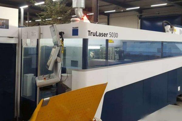 Trumpf TruLaser 5030 (L52) Siemens Sinumerik 840 D