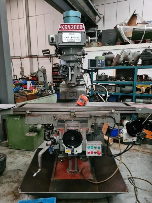 XYZ KRV 3000 SLV Vertical Mill Variable