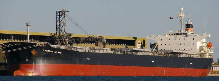 Mitsui Gearless Bulk Carrier 77830 DWT On 12.82M Draft