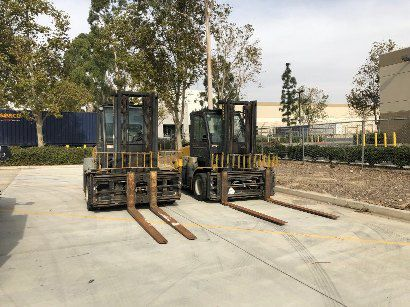 2 Yale Forklifts GLP155VX 15500