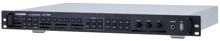 Leader LV7390 4K/HDR/3G/HD/SD-SDI Rasterizer