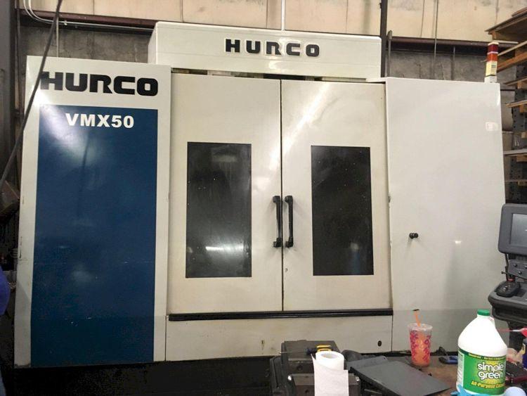 Hurco VMX 50 CNC Vertical Machining Center 3 Axis