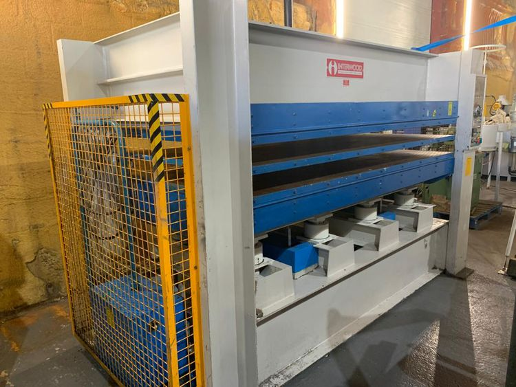 Interwood 25/1300, Hop Press