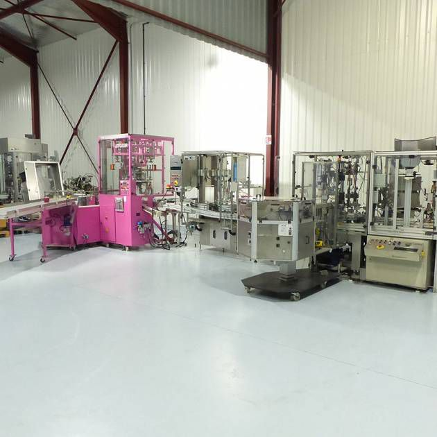 PKB Filling Line Crimping Perfumes