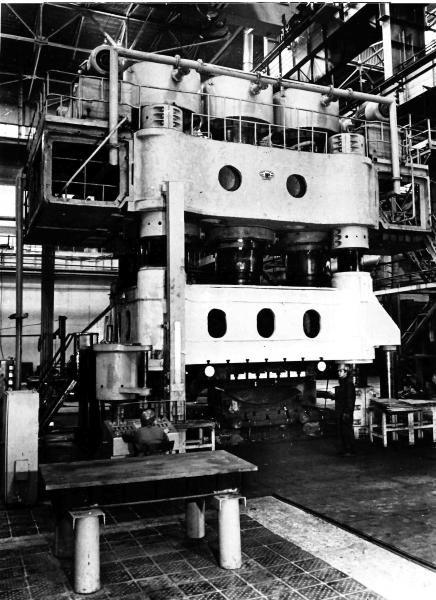 UZTM , Hydraulic close die forging press Max. 5000 Ton