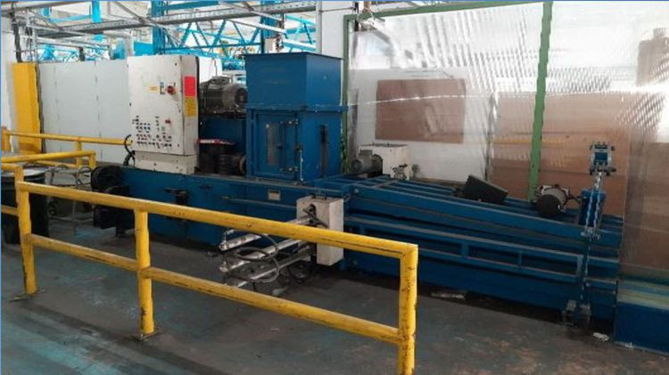 HSM VK 23/660 continuous tunnel bale press