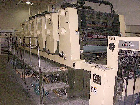 Akiyama Bestech BT 640, 6 colors Offset machine 72 X 102 Cm