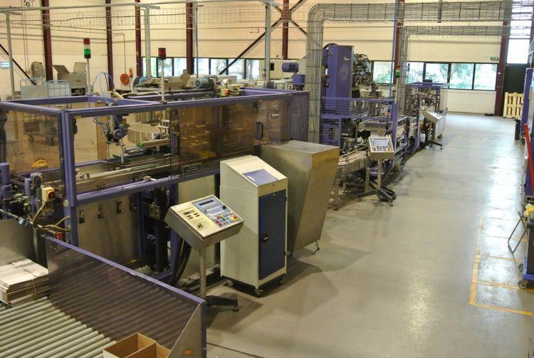 Kettner KAF2000 Carton packaging line