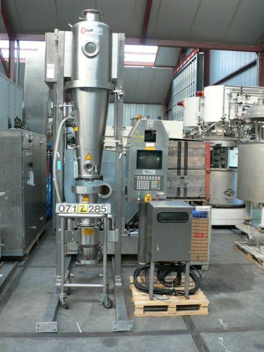 Glatt Fluidbed dryer batch GPCG-5 SPEZIAL