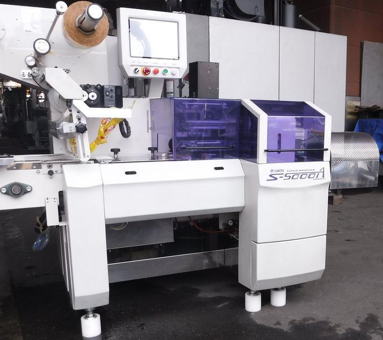 Omori S-5000A  Horizontal pillow automatic wrapping machine