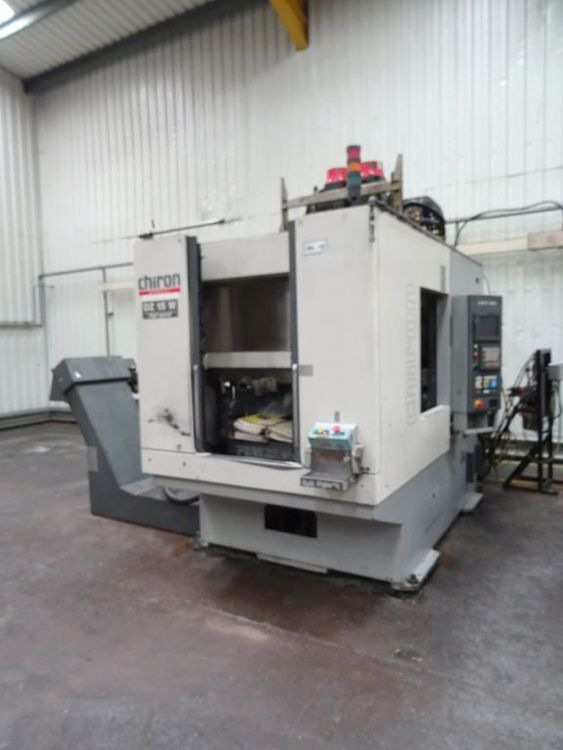 Chiron DZ 15W, 2-spindle, 2-pallet 3 Axis
