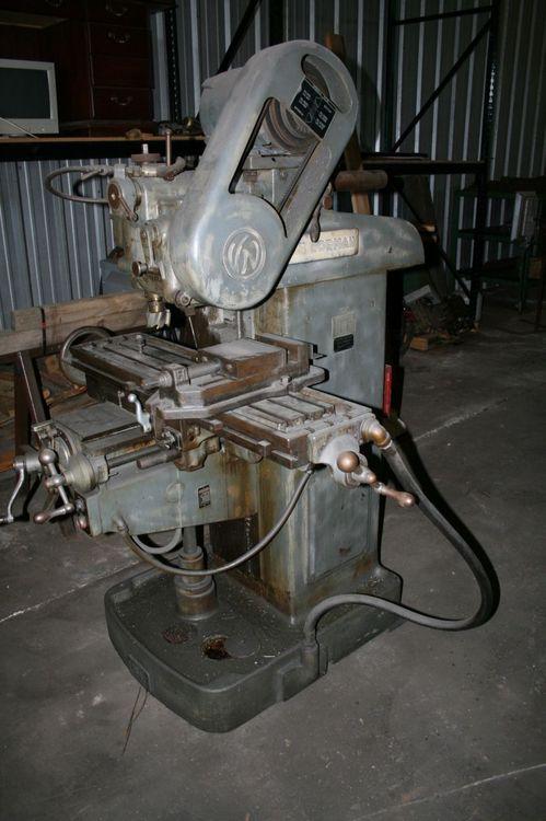Van Norman 16 Horizontal Milling Machine Max. 2760 Rpm