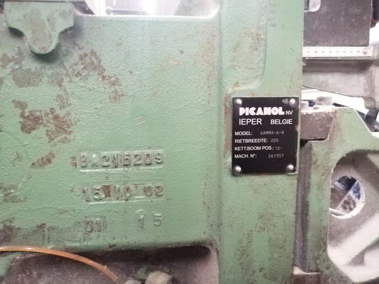 8 Picanol Gamma 220 Cm Staubli dobby 2670