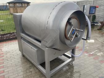 900 liters Vacuum tumbler