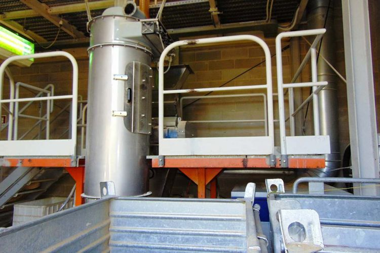 Alu Mixer Spiral Freezer System