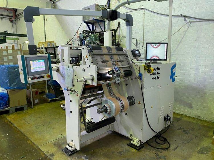 Euromac CB600, Doctoring machine 600 mm