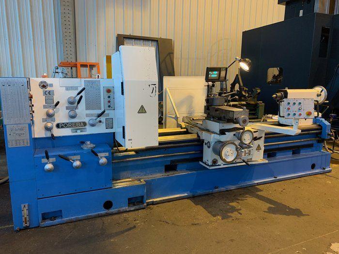 Poreba Engine Lathe 800 rpm TPR 93 / 2M (2,300 mm)