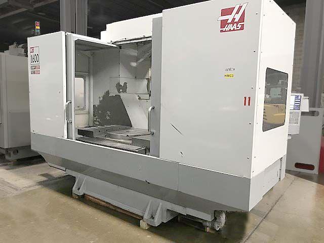 Haas EC-1600-4X CNC HORIZONTAL MACHINING CENTER 4 Axis