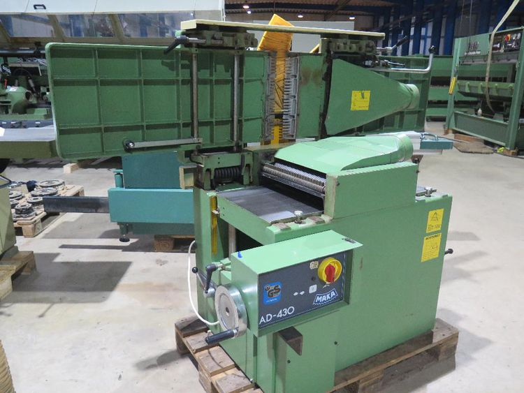 Maka AD 430, Combined Surfacing and Thicknessing planer