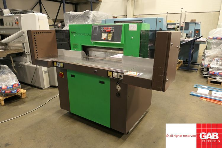 EBA Multicut 10/720, Paper Cutter