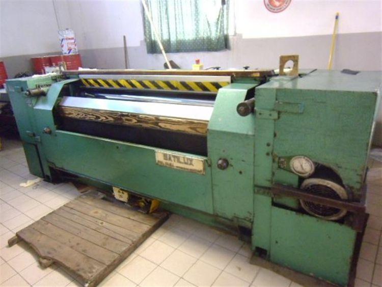 Polvara Satilux 1600 mm finishing with heated cylinder