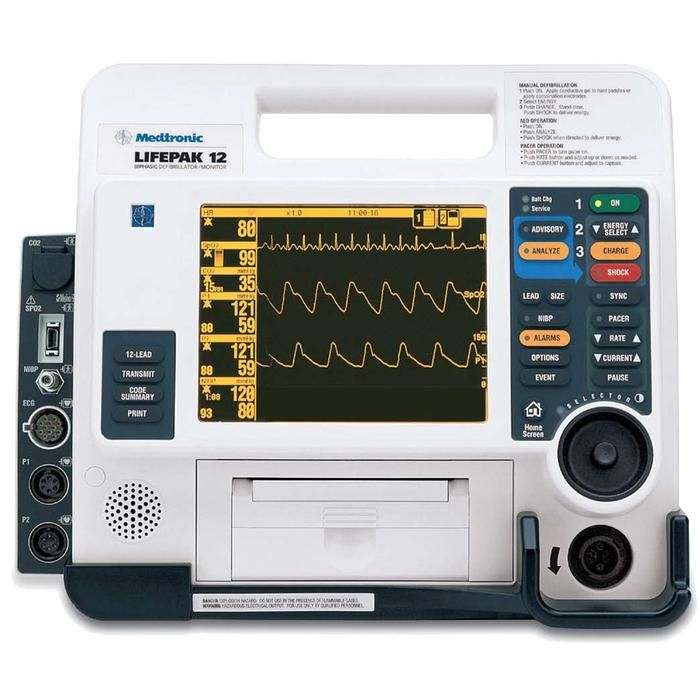 Physio Control Lifepak 12 Defibrillator - Refurbished