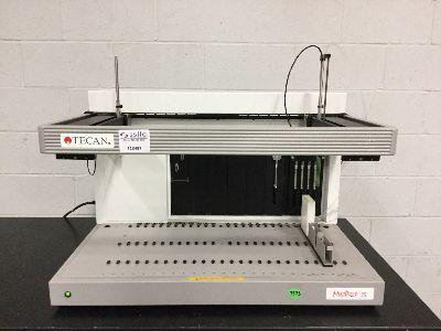 Tecan MiniPrep 75, Liquid Handling Workstation