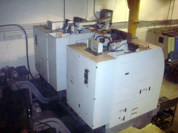 Doosan V850T Twin-Spindle CNC Vertical Turning Center