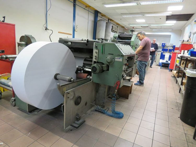 MULLER MARTINI Pronto, Continuous form press 3
