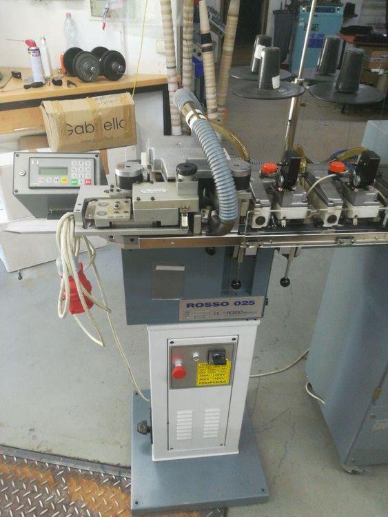 Rosso Linear 025 socks toe sewing machine
