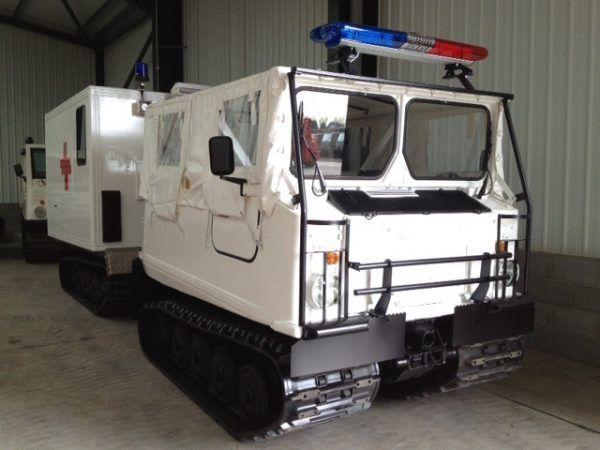 75 Hagglunds Bv206 Ambulance (Soft Top)