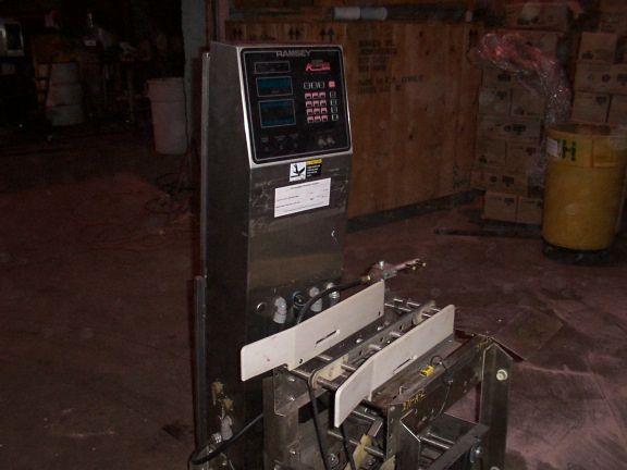 Ramsey Icore Autocheck 8000 Engineering Checkweigher