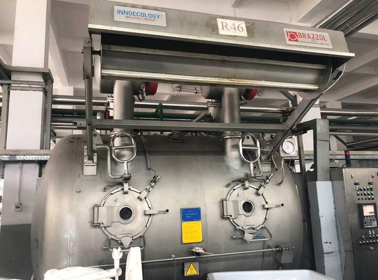 3 Brazzoli Innoecology, HT dyeing 250, 500 Kg