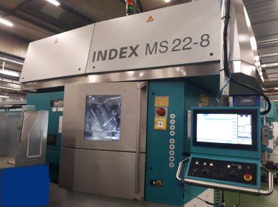 Index INDEX C200-4D SL 10 000 rpm MS22C-8 2 Axis