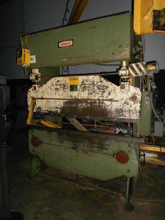 Diacro 14-72, Hydra Power Press Brake Machine Max. 35 ton