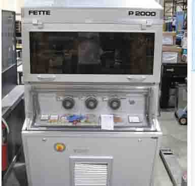 Fette Rotary  Tablet Press