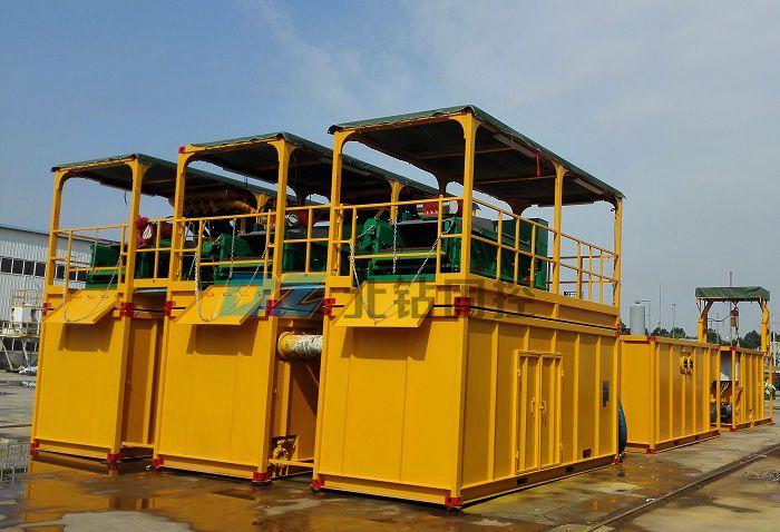 BZ solids control sludge separation system