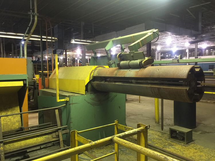 """Rowe CUT-TO-LENGTH LINES 60"""" x .065"""" x 40,000 Lb. CTL Line"""