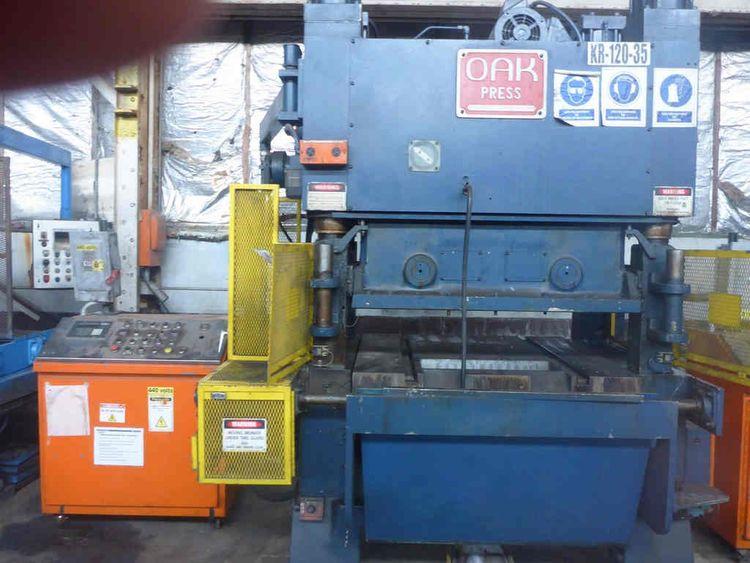 OAK FP3-54-1422 Fin Press Line 100 Ton