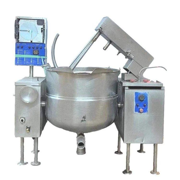 Cleveland Range MKDL-100-CC Sweep/Fold Tilting Direct Steam Mixer Kettle