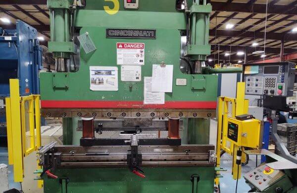 Cincinnati 60-CBII4 Press Brake 60 Ton